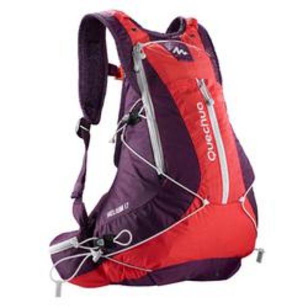 Oferta de Mochila de senderismo rápido FH900 Helium 17 litros violeta por 25,99€