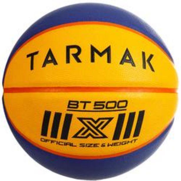 Oferta de Balón de baloncesto 3x3 Tarmak BT500. Talla 6 con peso de Talla 7 por 9,99€
