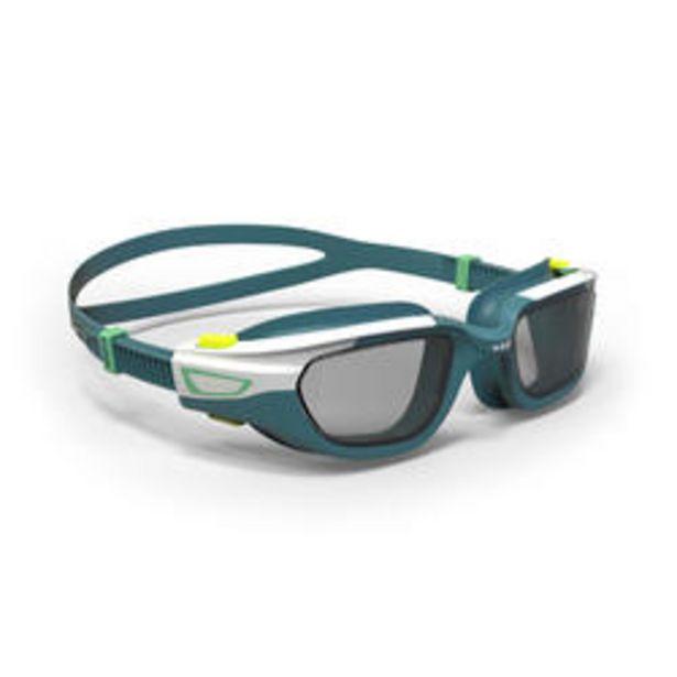 Oferta de Gafas de Natación 500 Spirit Azul Blanco Cristales Ahumados Talla S por 11,99€