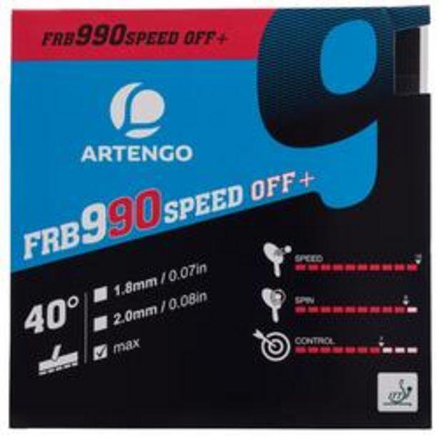 Oferta de REVESTIMIENTO PALA DE PING PONG FRB 990 SPEED 40° por 19,99€