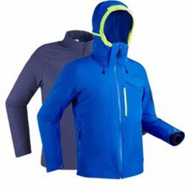 Oferta de Chaqueta de Esquí y Nieve Hombre Wedze Ski-P 980 Azul por 104,99€
