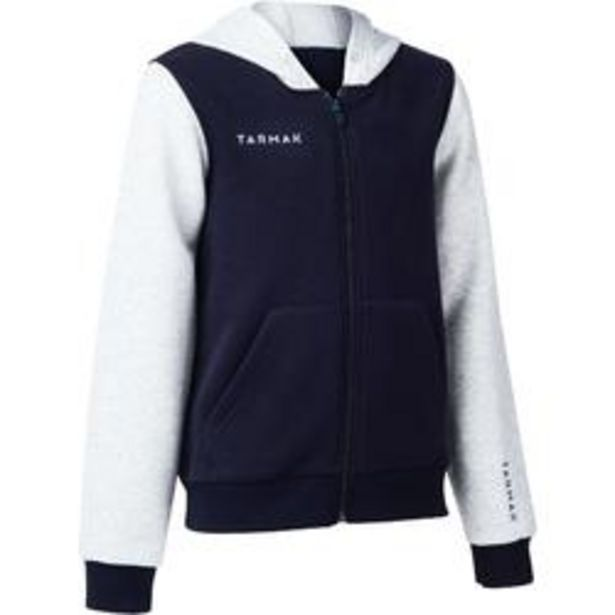 Oferta de Chaqueta con Capucha Tarmak 100 niños azul gris claro por 8,99€