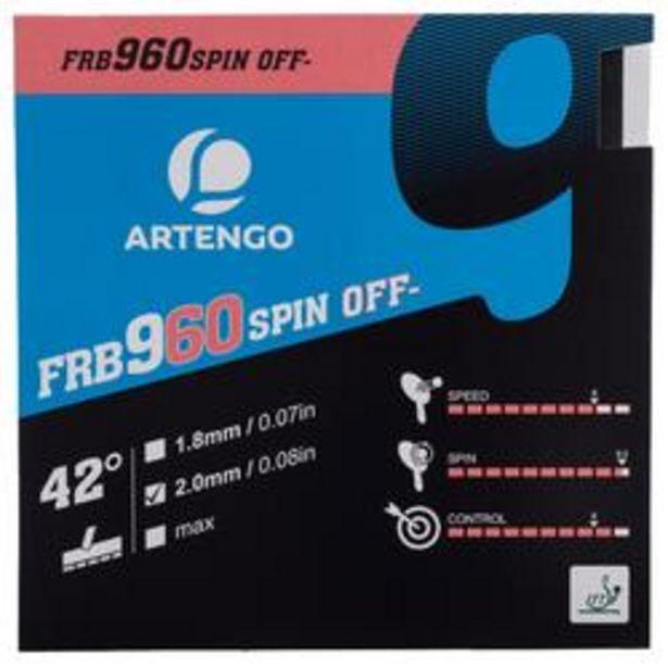Oferta de REVESTIMIENTO PALA DE PING PONG FRB 960 SPIN 42° por 14,99€