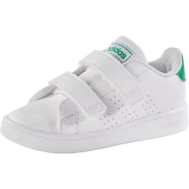 Oferta de Zapatillas Adidas Bebé primeros pasos Advantage blanco verde talla 19 al 27 por 20,99€