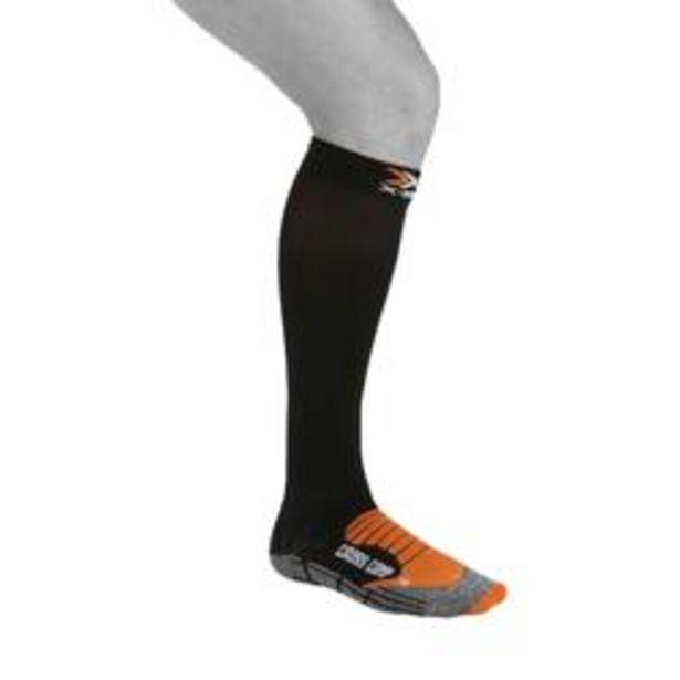 Oferta de Calcetines Adulto Compresión Triatlón Xsocks Cross Comp Negros por 17,99€