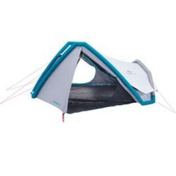 Oferta de Tienda Campaña Hinchable Camping Quechua Fresh&Black XL Hinchable 3 Personas por 89,99€