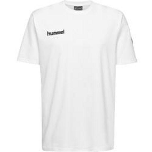 Oferta de Camiseta Balonmano Hummel MC hombre blanco por 9,99€