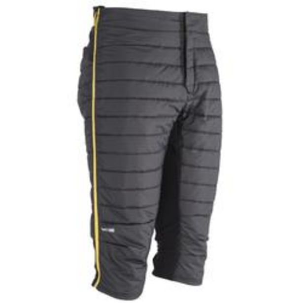 Oferta de Short térmico esquí freeride hombre ACTIV 900 gris por 29,99€