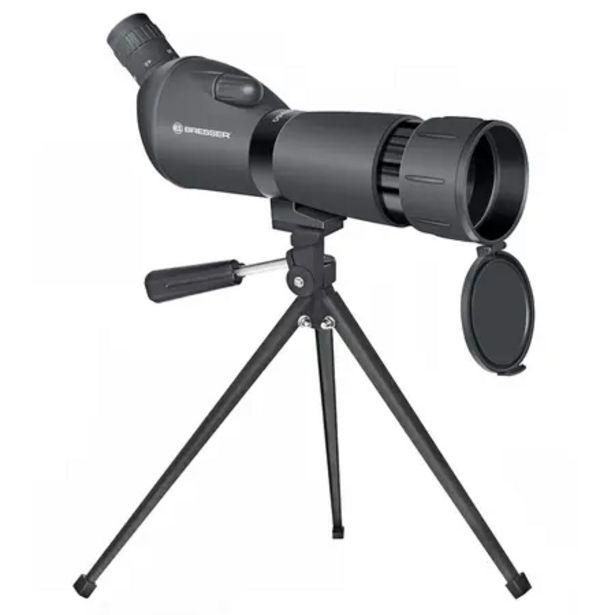 Oferta de Telescopio terrestre 20x-60x60 con trípode de mesa y adaptador Smartphone por 59,9€