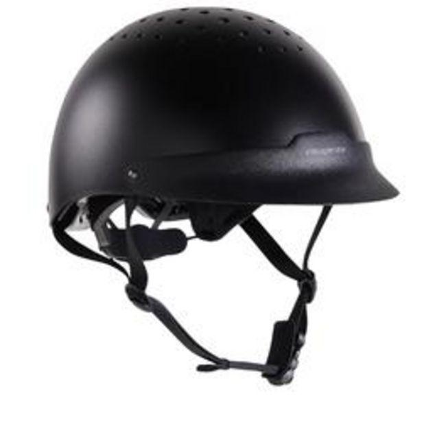 Oferta de Casco de equitación 100 negro por 12,99€