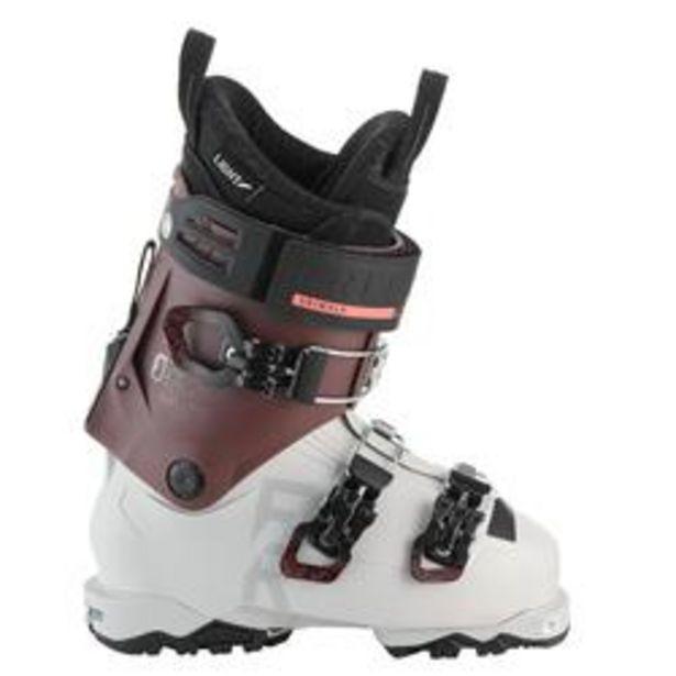 Oferta de Botas Esquí MUJER, WED'ZE FR900, flex 100, LOW TECH, BLANCO BOURDEOS por 199,99€