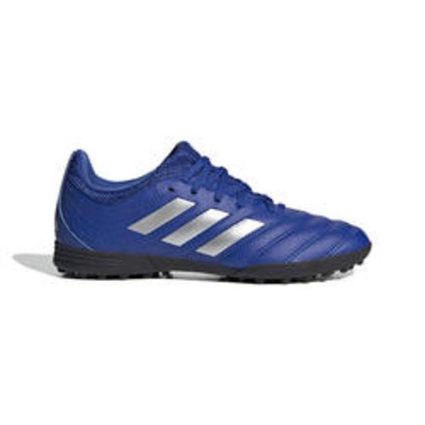 Oferta de Botas de Fútbol Adidas COPA 20.3 HG turf niños azul por 29,99€