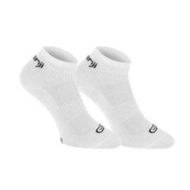Oferta de Calcetines Atletismo Niños Blanco Lote 2 por 1,49€