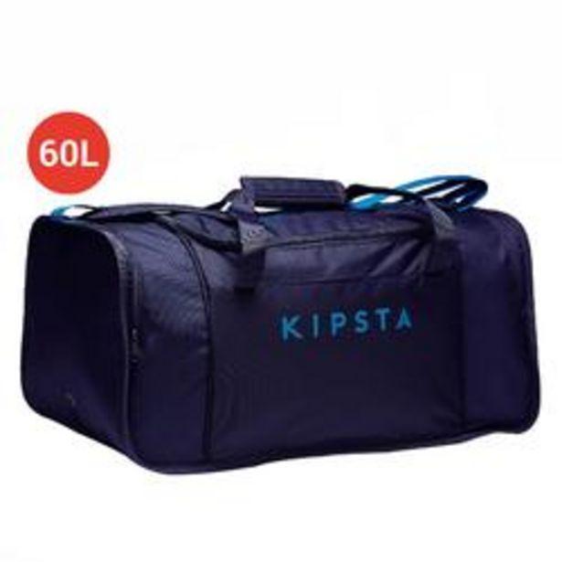 Oferta de Bolsa de Deporte Kipsta Kipocket 60L Azul Marino por 10,99€