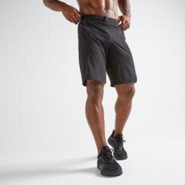 Oferta de Short Fitness FST 900 Hombre Negro por 16,99€