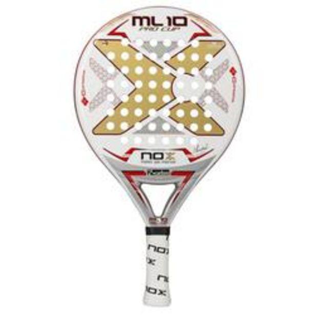 Oferta de PALA DE PADEL NOX ML10 PRO CUP por 184,99€