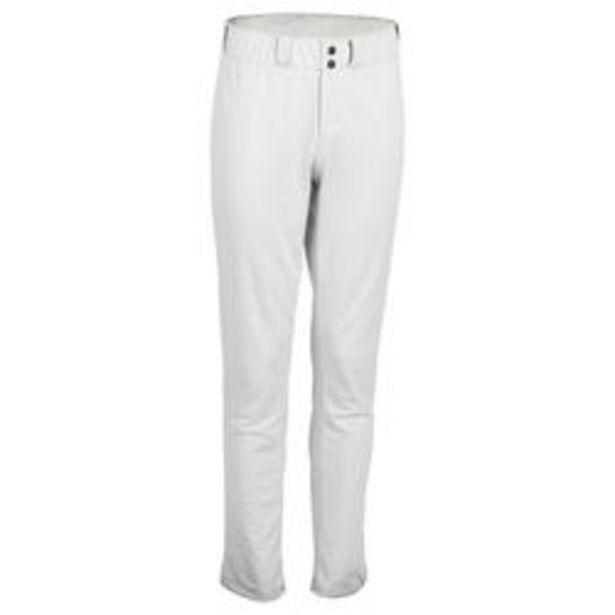 Oferta de Pantalones Béisbol Kipsta BA550 Adulto Gris por 17,99€