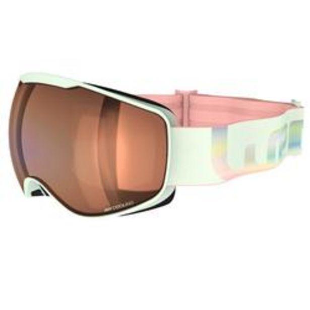 Oferta de Gafas Esquí y Snowboard, Wedze, G 900, Adulto y Niños, Buen Tiempo, Verde por 19,99€