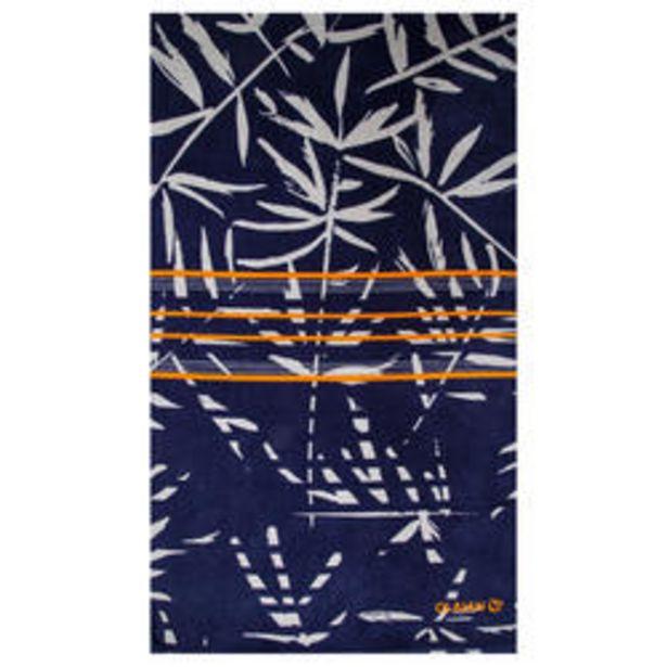 Oferta de Toalla Playa Surf Olaian Basic L Jap Print 145 x 85 cm algodón por 7,99€