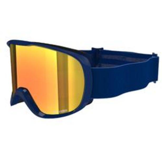 Oferta de Máscaras y Gafas de Esquí y Nieve, Wed'ze G500 S3, Adulto y Junior, Buen Tiempo por 14,99€