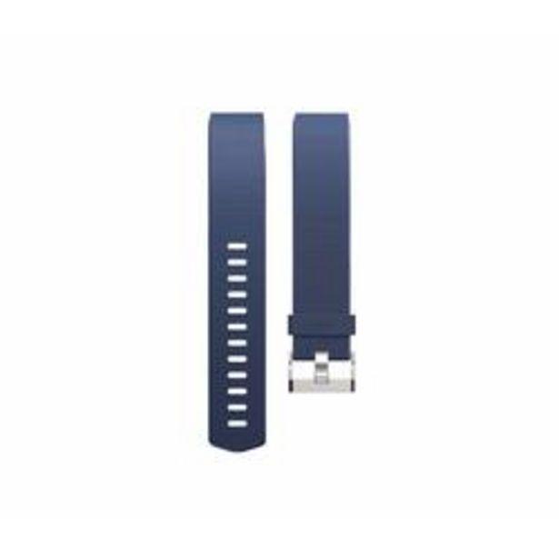 Oferta de Correa Reloj Running Fitbit CHARGE 2 Azul Talla L por 9,99€