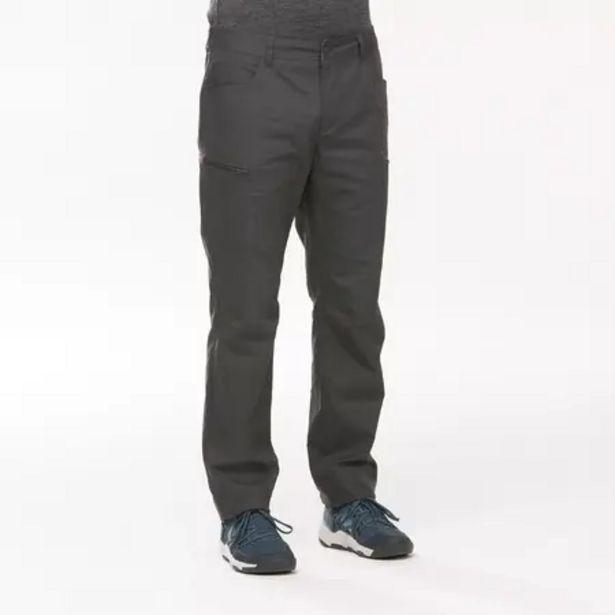 Oferta de Pantalón Hombre Montaña y Senderismo Quechua NH500 por 16,99€