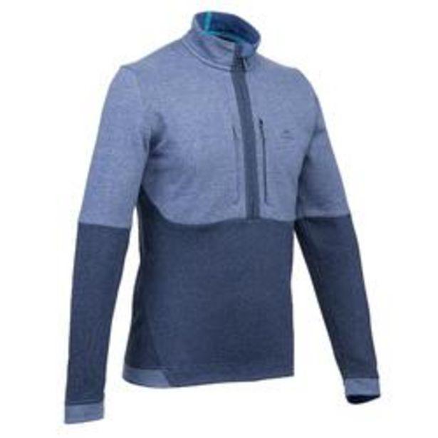 Oferta de Jersey de Montaña, Quechua, NH500, Hombre, Azul por 14,99€