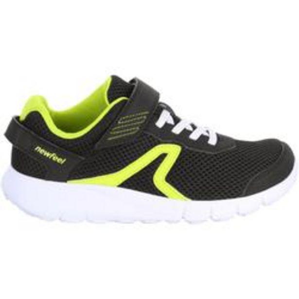 Oferta de Zapatillas marcha para niños Soft 140 negras / amarillas por 11,99€
