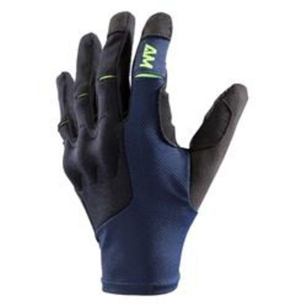 Oferta de Guantes BTT All-Mountain Azul por 19,99€