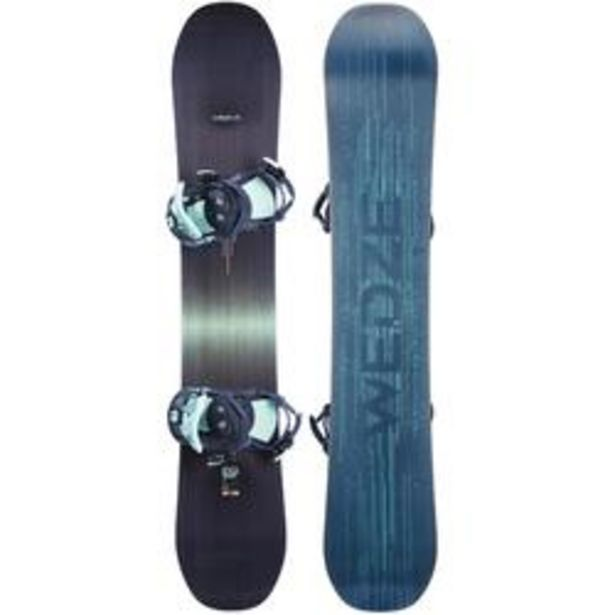 Oferta de Pack de Snowboard, Wed'ze Serenity 500, All Mountain, Mujer por 199,99€