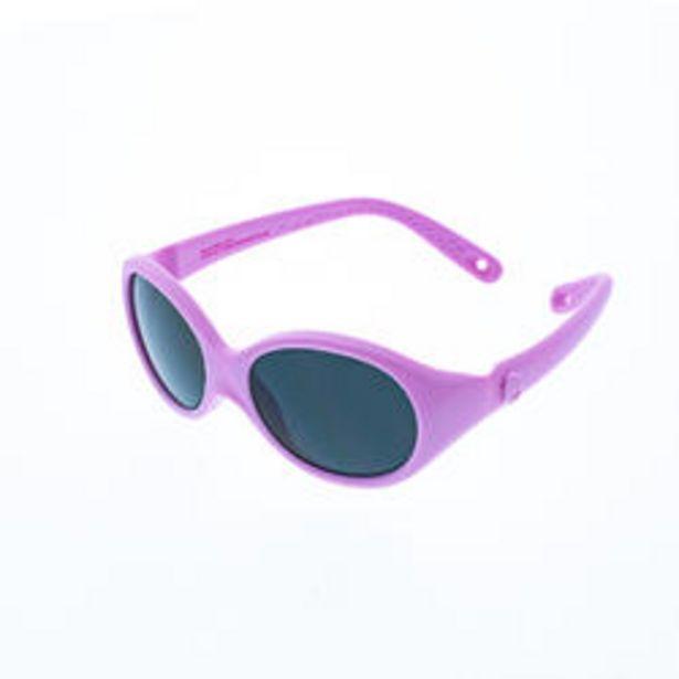 Oferta de Gafas De Sol De Montaña MH B100 Categoría 4 Bebé Rosa De 6 A 24 Meses por 4,99€