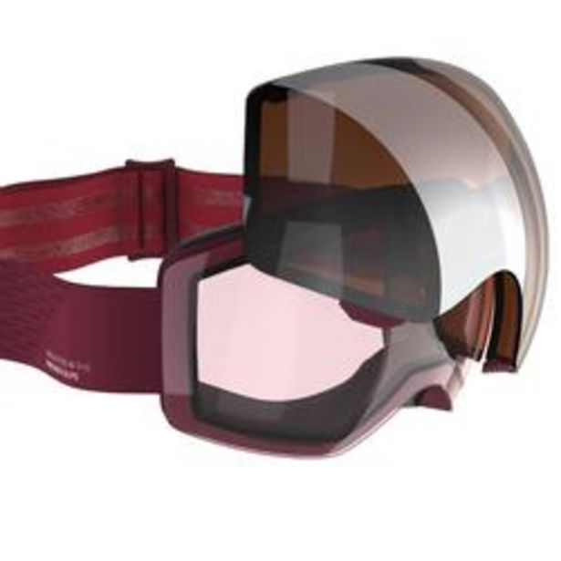 Oferta de Máscaras y Gafas de Esquí y Nieve, Wed'ze G520 I, Adulto y Junior,Intercambiable por 39,99€