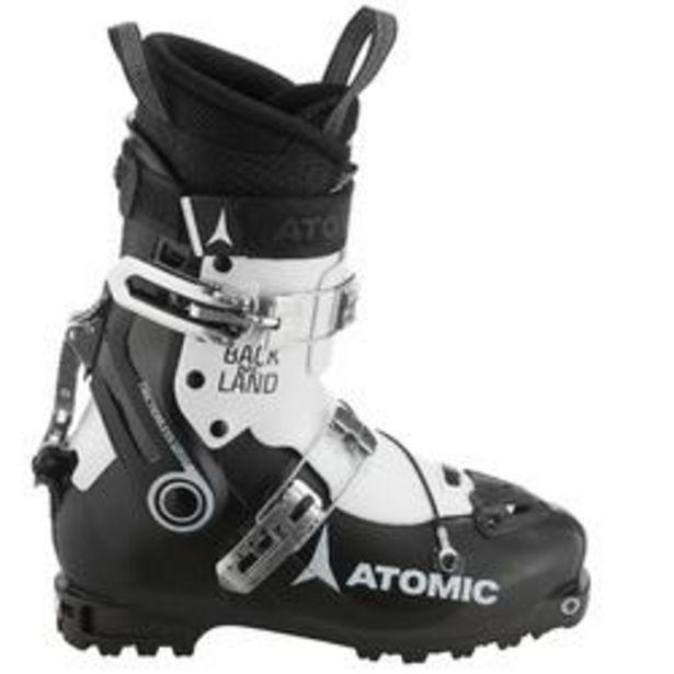 Oferta de Botas Esquí Travesía ATOMIC Backland NC HOMBRE NEGRO BLANCO por 269,99€
