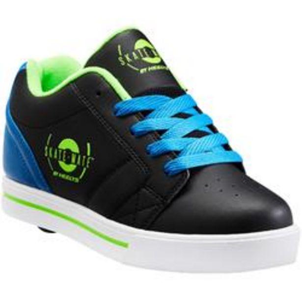 Oferta de Zapatillas Ruedas Heelys Skate Mate Niño (Talla 33-39) Negro|Azul por 29,99€