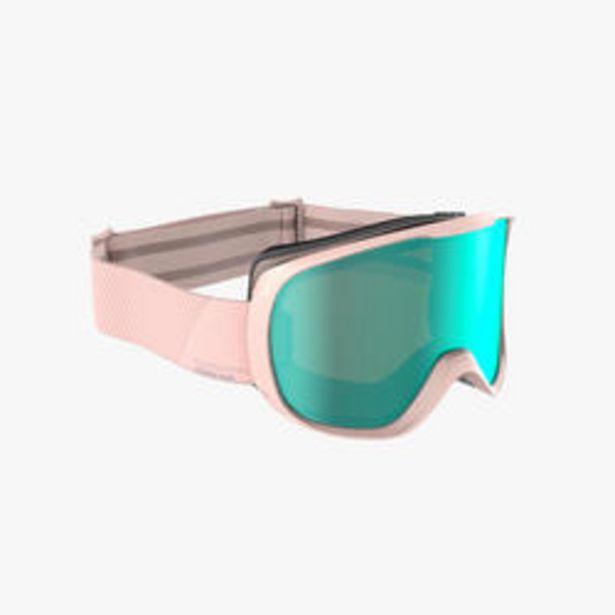 Oferta de Gafas Esquí y Snowboard, Wedze, G 500, Adulto y Niños, Buen Tiempo, Rosa por 14,99€