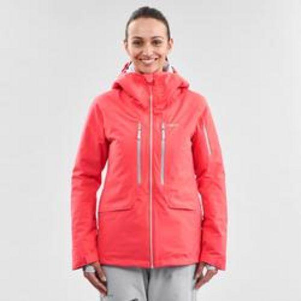 Oferta de Abrigo Chaqueta esquí y nieve wed'ze mujer FR500 Rosa por 74,99€