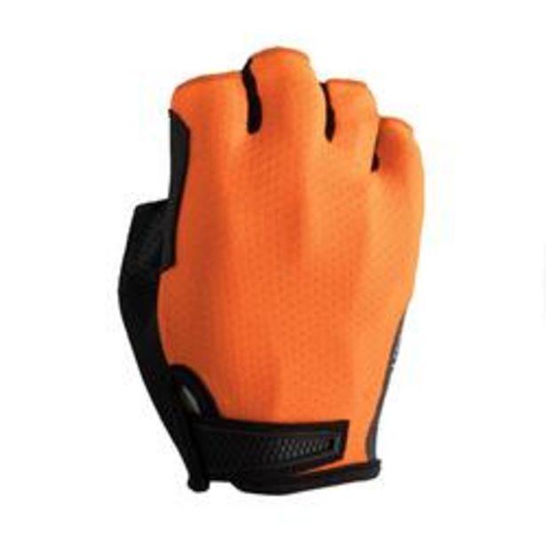 Oferta de Guantes ciclismo carretera RoadCycling 900 naranja fluo por 14,99€