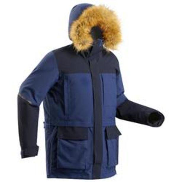 Oferta de Chaqueta Parka Arctic trekking 500 Unisex X-Warm azul por 199,99€