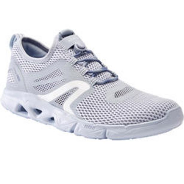 Oferta de Zapatillas Caminar PW 500 Fresh Mujer Gris por 23,99€