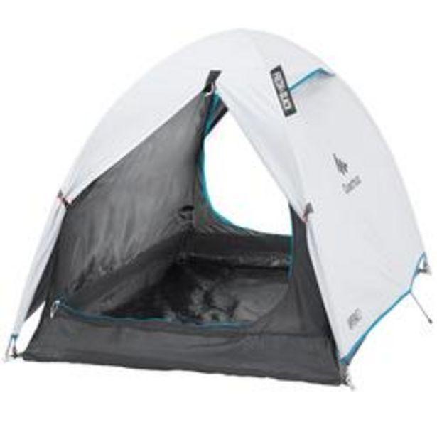 Oferta de Tienda de Camping Pequeña Quechua Arpenaz Fresh&Black 2 Personas por 34,99€