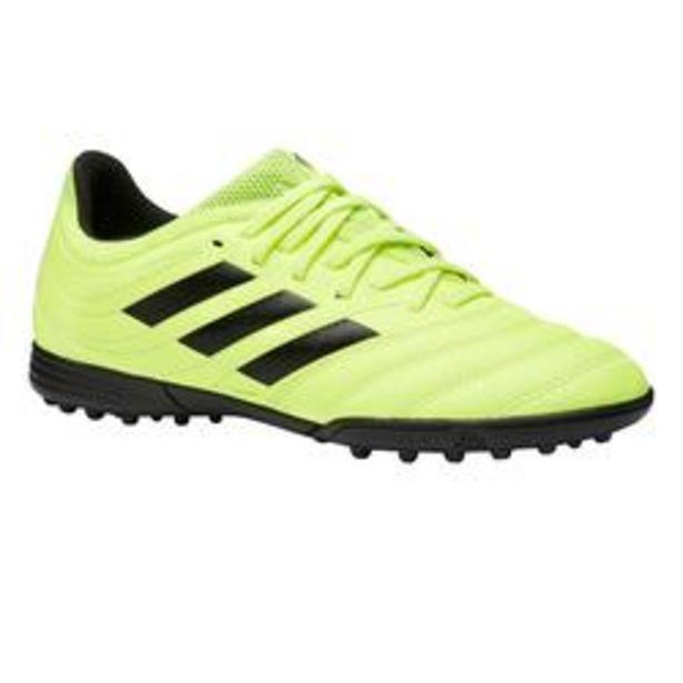 Oferta de Botas de Fútbol Adidas Copa 19.3 HG turf niños amarillo por 29,99€