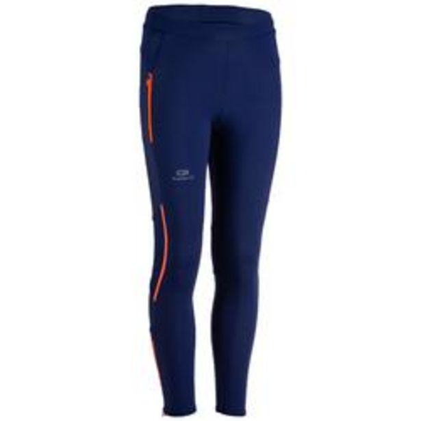 Oferta de Mallas largas Atletismo júnior Kiprun azul rojo por 12,99€