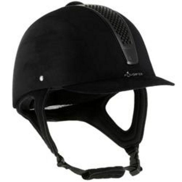 Oferta de Casco Equitación Fouganza C700 Negro por 29,99€