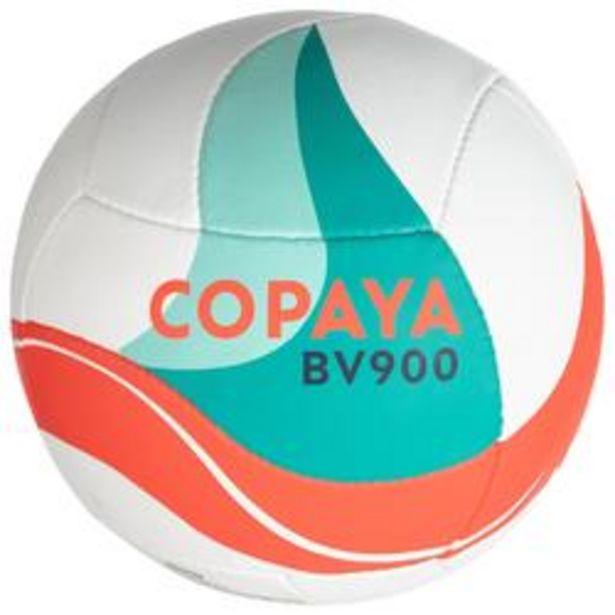 Oferta de Balón Vóley playa Copaya BV900 FIVB blanco verde rojo por 19,99€