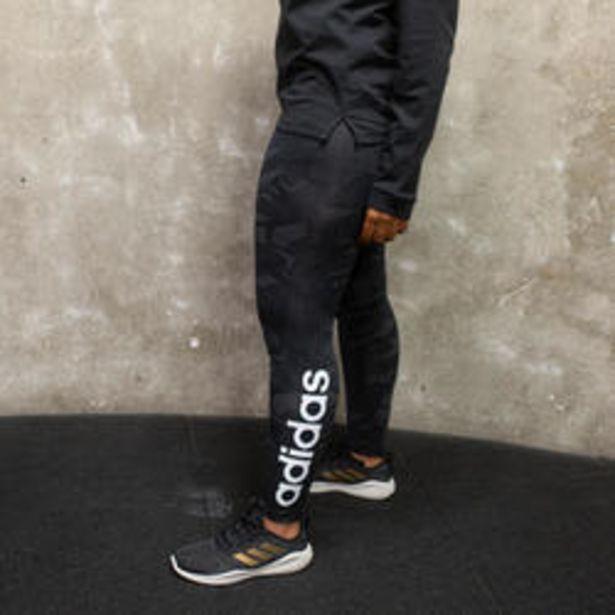 Oferta de Mallas leggins Adidas mujer AOP negro blanco por 19,99€
