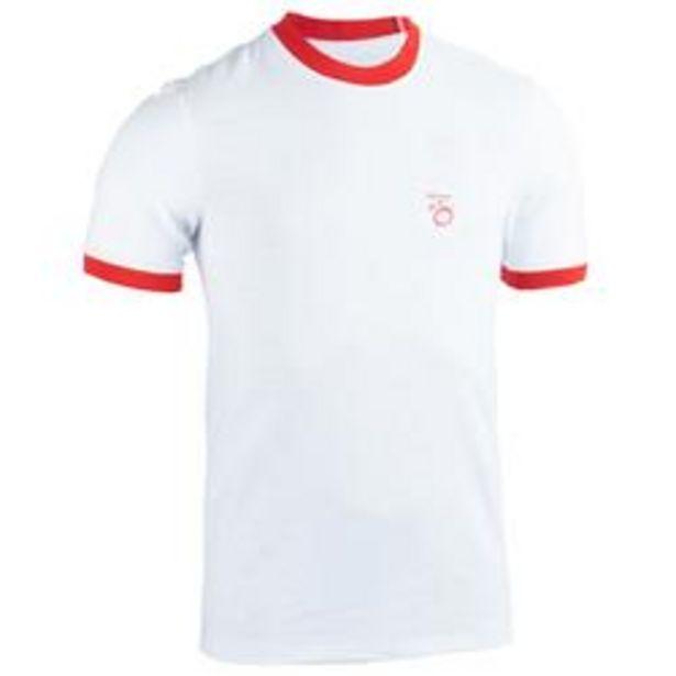 Oferta de Camiseta Rugby Offload hincha Inglaterra Copa del Mundo 2019 hombre blanco por 8,99€