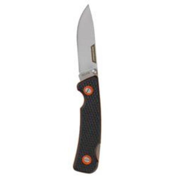 Oferta de Navaja CAza Solognac Axis 75 negro Plegable 7.5 Cm Hoja por 6,99€