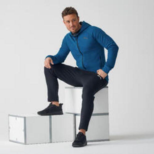 Oferta de Chaqueta con capucha PUMA hombre azul por 39,99€