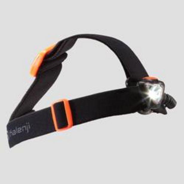 Oferta de Linterna Frontal Trail Running Onnghit 250 160 Lúmenes Negro Naranja por 16,99€