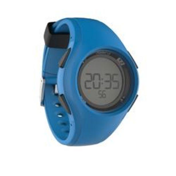 Oferta de Reloj Cronómetro Running Kalenji W200 M Azul por 7,99€